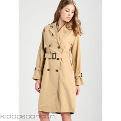 Vero Moda VMDINA LONG - Trenchcoat - travertine - Womens Trench Coats VE121U02K-B11