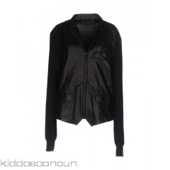 <b>Notice</b>: Undefined index: alt_image in <b>/home/kiddoscancun/public_html/vqmod/vqcache/vq2-catalog_view_theme_cerah_template_product_category.tpl</b> on line <b>73</b>ALEXANDER MCQUEEN Biker jacket - knitted leather no appliqués solid colour single-breasted  button closing - Womens Biker Jackets 41749537AW