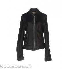 PIHAKAPI Biker jacket - leather no appliqués solid colour single-breasted  snap-buttons zip - Womens Biker Jackets 41755197QS