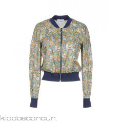 CACHAREL Bomber - plain weave no appliqués floral design single-breasted  zip round collar - Womens Bombers 41782773OV