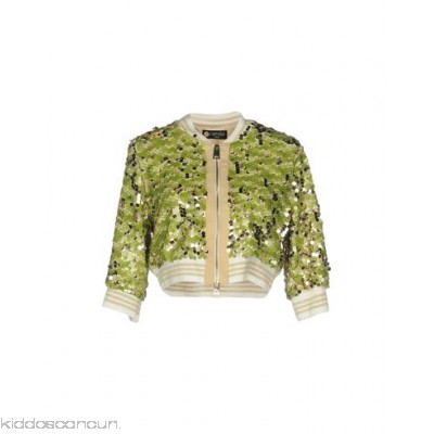 CAMILLA Milano Bomber - satin tulle lamé sequinned solid colour single-breasted - Womens Bombers 41769706TN