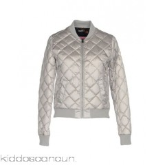 CIESSE PIUMINI Bomber - techno fabric logo solid colour single-breasted  zip round collar - Womens Bombers 41763747LL