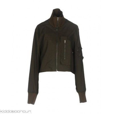 DAMIR DOMA Bomber - plain weave no appliqués solid colour single-breasted zip turtleneck - Womens Bombers 41755475AG