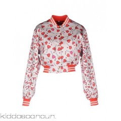 DIESEL Bomber - satin no appliqués multicolour pattern single-breasted  zip round collar - Womens Bombers 41778936OK