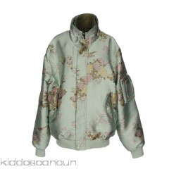 FENTY PUMA by RIHANNA Bomber - jacquard satin logo floral design single-breasted  snap-buttons - Womens Bombers 41770551FH