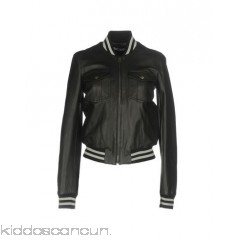 JUST CAVALLI Bomber - knitted leather lamé no appliqués solid colour single-breasted  - Womens Bombers 41756934NL