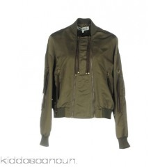 KENZO Bomber - techno fabric no appliqués solid colour single-breasted  zip round collar - Womens Bombers 41768137HO