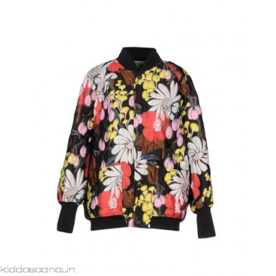MARNI Bomber - satin jacquard no appliqués floral design single-breasted snap button closure - Womens Bombers 41764896LL