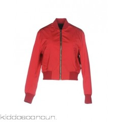 MSGM Bomber - techno fabric no appliqués basic solid colour single-breasted  zip round collar - Womens Bombers 41759174PS