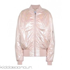 PIERRE DARRÉ Bomber - techno fabric iridescent effect solid colour single-breasted  zip round collar - Womens Bombers 41786521KG
