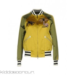 <b>Notice</b>: Undefined index: alt_image in <b>/home/kiddoscancun/public_html/vqmod/vqcache/vq2-catalog_view_theme_cerah_template_product_category.tpl</b> on line <b>73</b>VALENTINO Bomber - satin rhinestones beaded detailing two-tone pattern single-breasted  zip - Womens Bombers 41759360GI