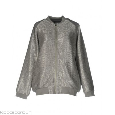 ZOE KARSSEN Bomber - knitted lamé no appliqués solid colour single-breasted zip - Womens Bombers 41754540IN