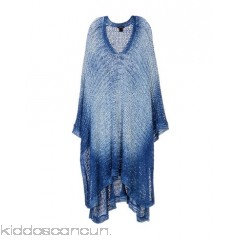 AVANT TOI Cloak - knitted shaded effect no appliqués multicolour pattern single-breasted  no pockets - Womens Cloaks 41769597LR