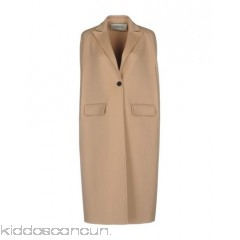 VALENTINO Cloak - baize no appliqués solid colour single-breasted  button closing lapel collar - Womens Cloaks 41771323BF