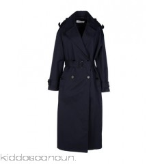 MAURO GRIFONI Belted coats - gabardine belt flashes basic solid colour lapel collar double-breasted - Womens Belted Coats 41670349TH