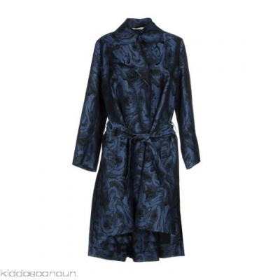 TONELLO Belted coats - plain weave belt two-tone single-breasted lapel collar multipockets - Womens Belted Coats 41764206OJ