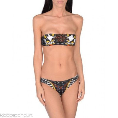DSQUARED2 Bikini - synthetic jersey detachable application logo multicolour pattern stretch - Womens Bikinis 47210014TA