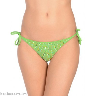 FISICO Bikini - synthetic jersey logo rhinestones solid colour self-tie closure stretch - Womens Bikinis 47214673PQ