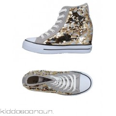 CAFèNOIR Sneakers - techno fabric logo sequins laminated effect multicolour pattern laces - Womens Sneakers 11376511JL