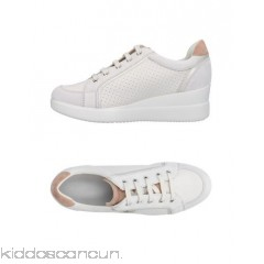 <b>Notice</b>: Undefined index: alt_image in <b>/home/kiddoscancun/public_html/vqmod/vqcache/vq2-catalog_view_theme_cerah_template_product_category.tpl</b> on line <b>73</b>GEOX Sneakers - leather logo two-tone laces round toeline flat - Womens Sneakers 11414004SX