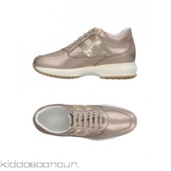 <b>Notice</b>: Undefined index: alt_image in <b>/home/kiddoscancun/public_html/vqmod/vqcache/vq2-catalog_view_theme_cerah_template_product_category.tpl</b> on line <b>73</b>HOGAN Sneakers - laminated effect logo sequinned solid colour laces round toeline - Womens Sneakers 11412704KB