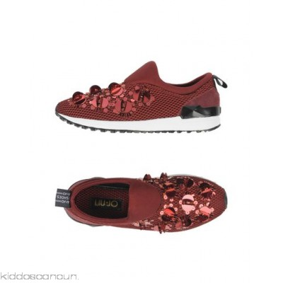 LIU •JO SHOES Sneakers - techno fabric neoprene sequins solid colour round toeline flat - Womens Sneakers 11314887TF