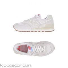 NEW BALANCE Sneakers - suede effect techno fabric logo solid colour laces round toeline - Womens Sneakers 11387663NV