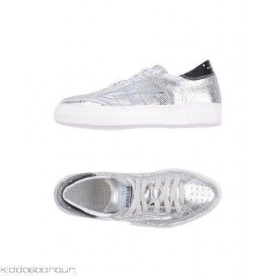 PRIMABASE Sneakers - laminated effect logo solid colour laces round toeline flat - Womens Sneakers 11332858GT