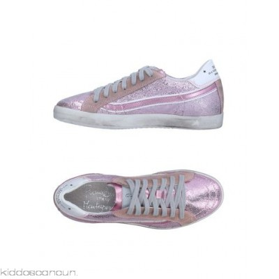 PRIMABASE Sneakers - logo laminated effect solid colour laces round toeline flat - Womens Sneakers 11332879GM