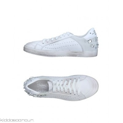 PRIMABASE Sneakers - sueded effect logo rhinestones two-tone pattern laces round toeline - Womens Sneakers 11332908EA