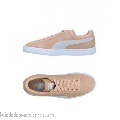 PUMA Sneakers - leather sueded effect logo solid colour laces round toeline - Womens Sneakers 11333533OF