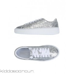 PUMA Sneakers - logo glitter solid colour laces round toeline flatform - Womens Sneakers 11403502BP