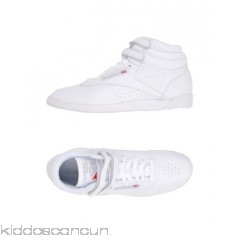 REEBOK Sneakers - logo basic solid colour laces round toeline flat fabric inner - Womens Sneakers 11307697HT
