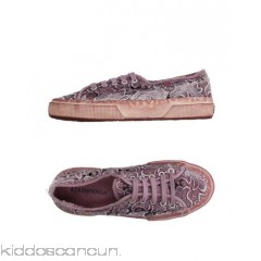 SUPERGA® Sneakers - canvas lace logo solid colour laces round toeline - Womens Sneakers 11173902SA