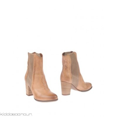 FRANCESCO MORICHETTI Ankle boot - no appliqués solid colour elasticised gores round toeline square heel wooden heel - Womens Chelsea Boots 11416481PV