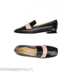8 Loafers - no appliqués two-tone square toeline flat leather lining leather/rubber sole - Womens Loafers 11396991KS