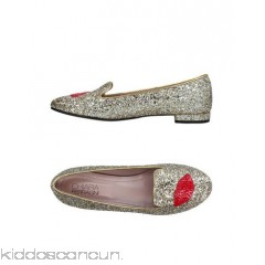 CHIARA FERRAGNI Loafers - contrasting applications glitter two-tone round toeline square heel covered heel - Womens Loafers 11366760EW
