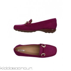 GEOX Loafers - nubuck metal applications solid colour square toeline flat leather lining - Womens Loafers 11389871VO