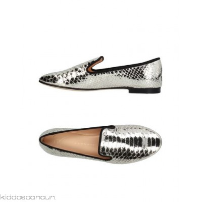 GIUSEPPE ZANOTTI DESIGN Loafers - snakeskin print laminated effect no appliqués solid colour flat leather lining - Womens Loafers 11394871MT