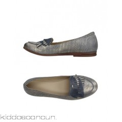 KHRIO' Loafers - laminated effect printed leather fringe two-tone round toeline flat - Womens Loafers 11409189MM