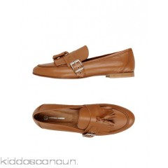 LEONARDO PRINCIPI Loafers - tassels buckle solid colour round toeline flat leather lining - Womens Loafers 11436293KW