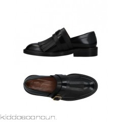 MARNI Loafers - polished leather buckle fringe solid colour round toeline square heel - Womens Loafers 11423895GF