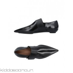 MARNI Loafers - polished leather no appliqués solid colour velcro closure narrow toeline flat - Womens Loafers 11423340UC