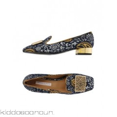 ROBERTO FESTA Loafers - brocade metal applications paisley print square toeline square heel leather lining - Womens Loafers 11335828JB