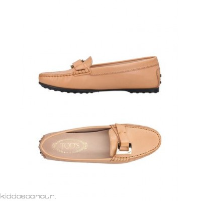 TOD'S Loafers - buckle solid colour round toeline flat leather lining rubber nubbed sole - Womens Loafers 11398872DC