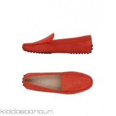 TOD'S Loafers - leather suede effect no appliqués solid colour round toeline flat - Womens Loafers 11396474PW