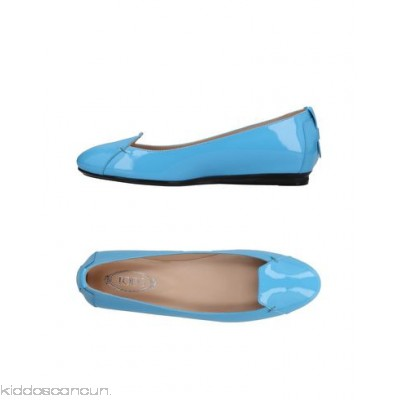 TOD'S Loafers - varnished effect no appliqués solid colour round toeline flat leather lining - Womens Loafers 11436258UA